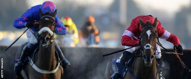 Cue Card and Silviniaco Conti