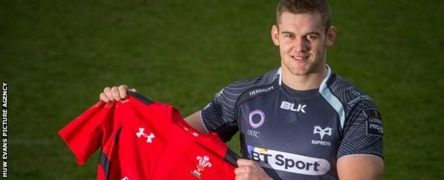 Wales and Ospreys flanker Dan Lydiate