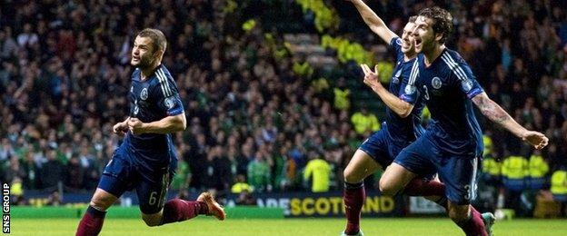 Shaun Maloney fired in a spectacular goal to give Scotland a 1-0 win over Republic of Ireland