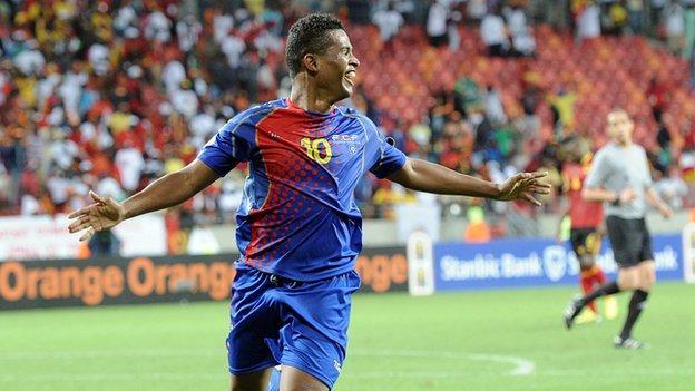 Cape Verde striker Heldon