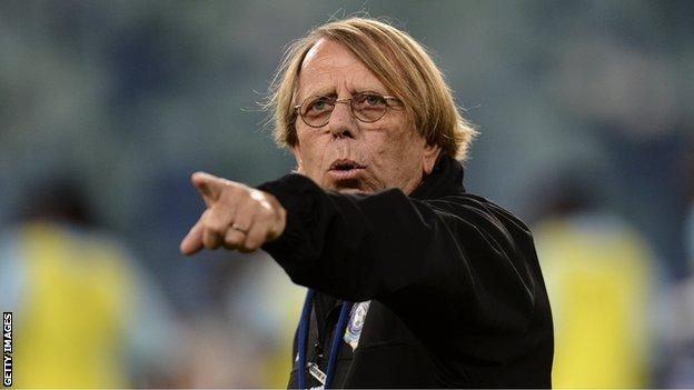 Congo coach Claude LeRoy