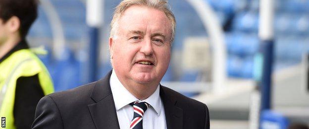 Rangers chairman David Somers