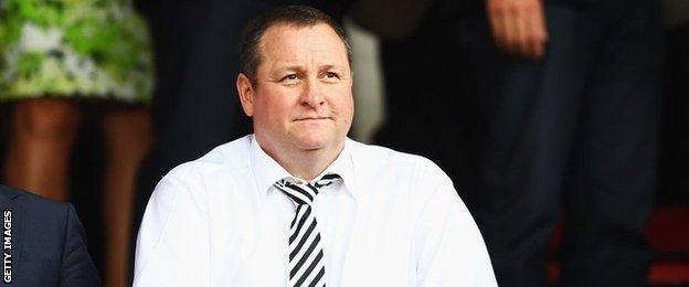 Rangers shareholder Mike Ashley