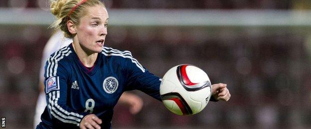 Scotland's Kim Little