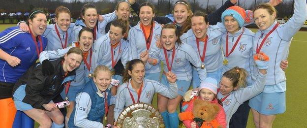 Ards beat Pegasus on penalty flicks in the Ulster Shield final
