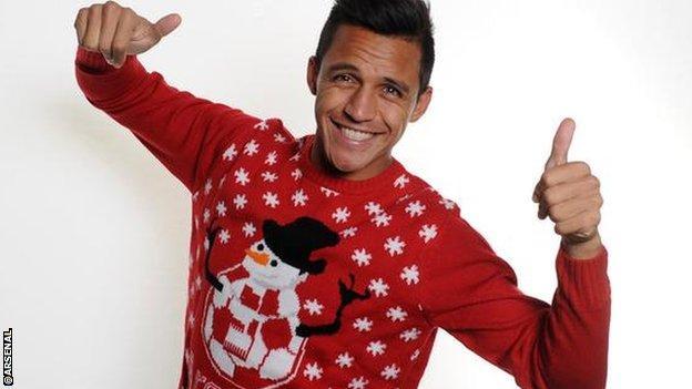 Arsenal Christmas tweet