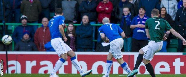 David Gray opened the scoring with a fantastic strike