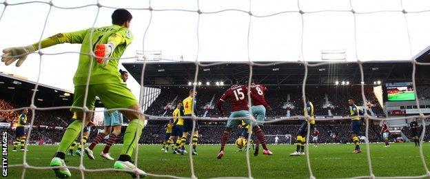 West Ham's Alex Song