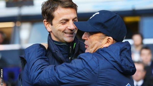 Tim Sherwood and Tony Pulis