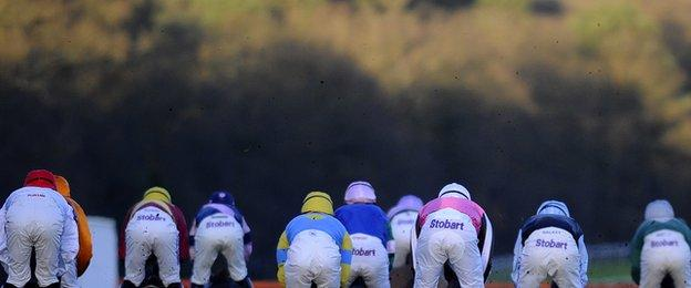 Jockeys at Ascot