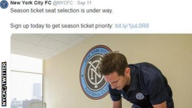 NYCFC tweet
