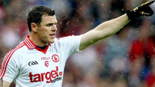 Conor Gormley was brought into the Tyrone in 2001