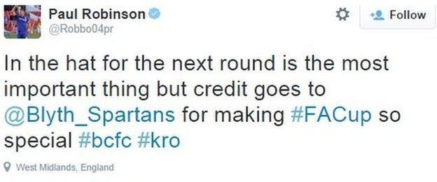 Paul Robinson Twitter