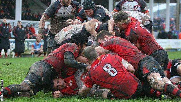 Cornish Pirates vs Jersey