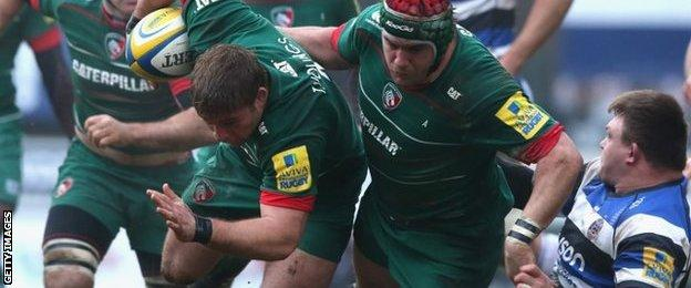 Leicester hooker Tom Youngs