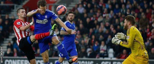 Southampton goal