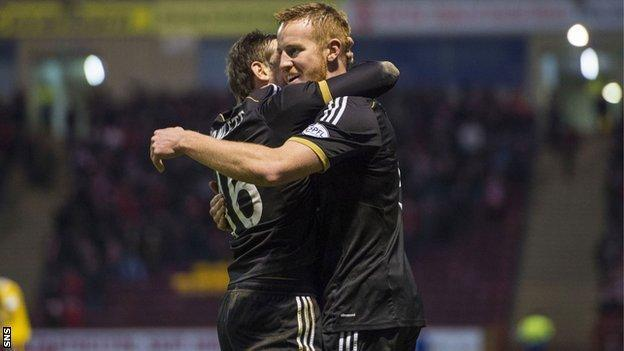 Adam Rooney has scored 19 goals this season.
