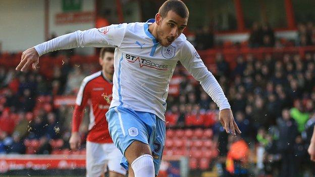 Marcus Tudgay had an early penalty saved in Saturday's 2-0 win against Walsall at Bescot