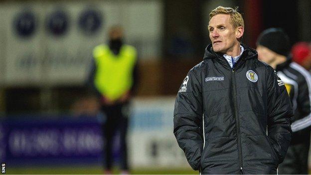 St Mirren caretaker boss Gary Teale