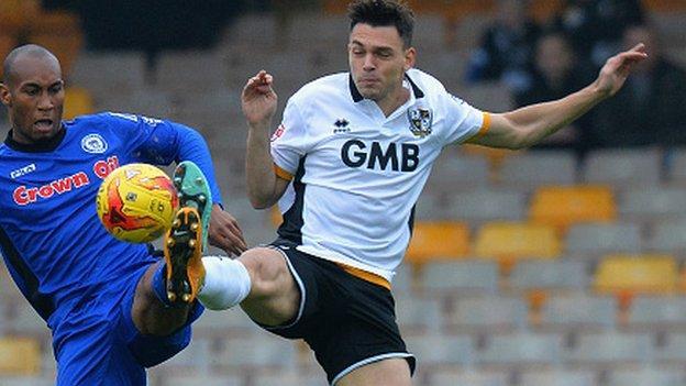 Port Vale on-loan defender Frederic Veseli