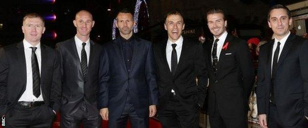 The Class of 92 stars