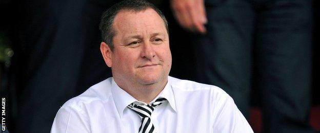 Mike Ashley raised around £117m by selling a percentage of his stake in Sports Direct last week