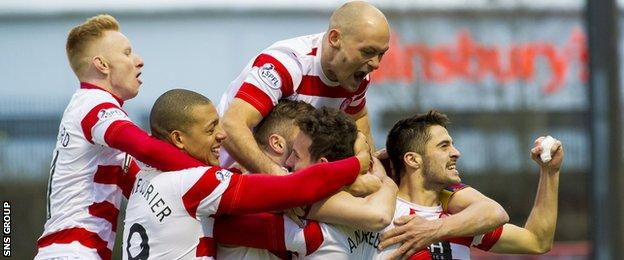 Hamilton have done fantastically well on their return to the top flight