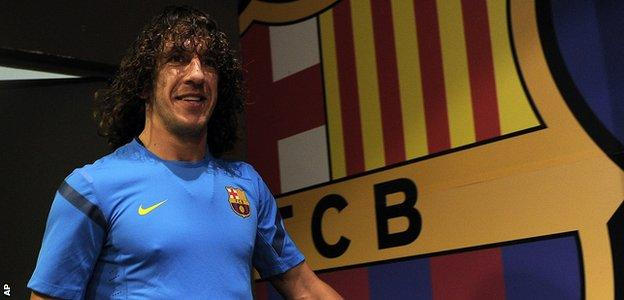Carles Puyol was Barcelona captain and played 100 times for Spain
