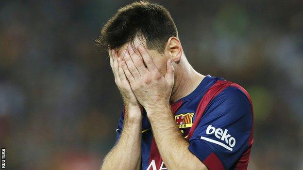 Messi has been linked with a move to premier League side Chelsea