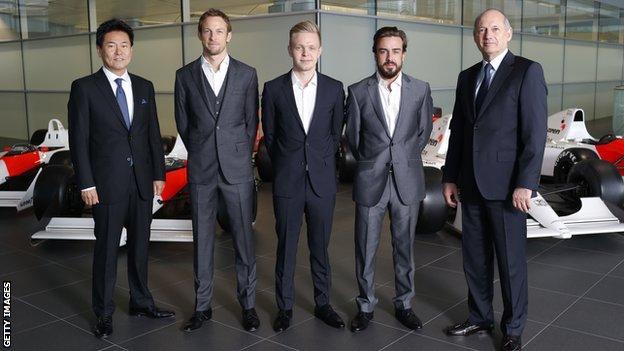 McLaren line-up
