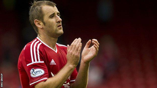 Aberdeen forward Niall McGinn