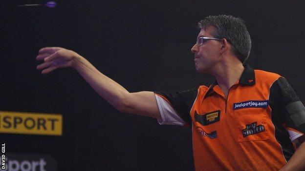 Canadian darts player Jeff Smith