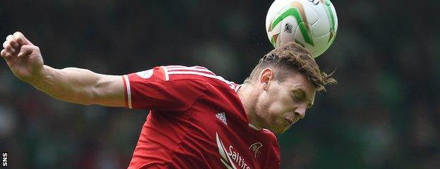 Aberdeen defender Ash Taylor