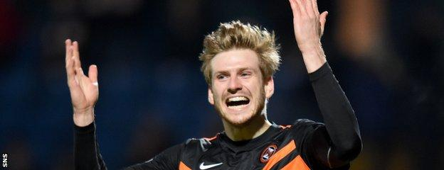 Dundee United's Stuart Armstrong