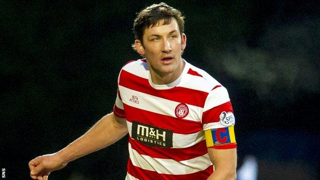Hamilton Accies player-manager Martin Canning