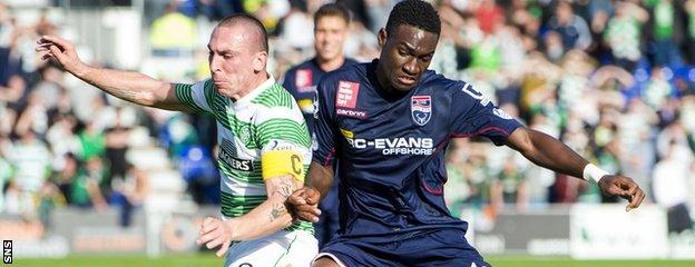 Ross County defender Ben Frempah