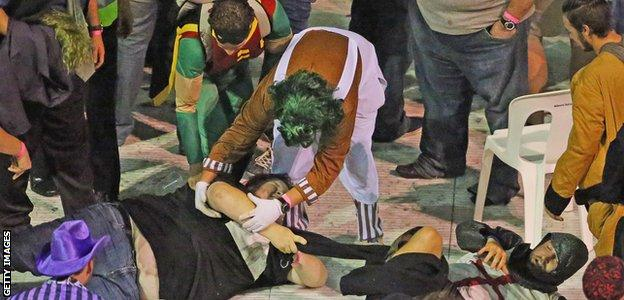 Darts riot in Melbourne