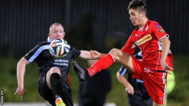 Ballymena and Cliftonville will also meet in the league Cup final later this month
