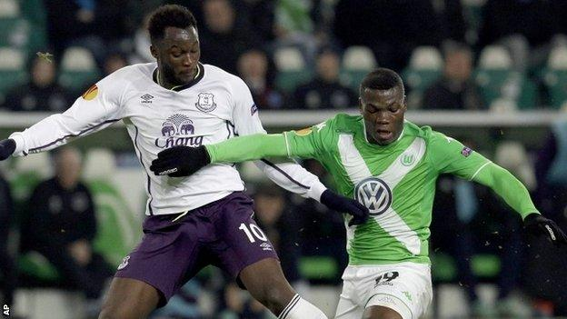 Wolfsburg midfielder Junior Malanda