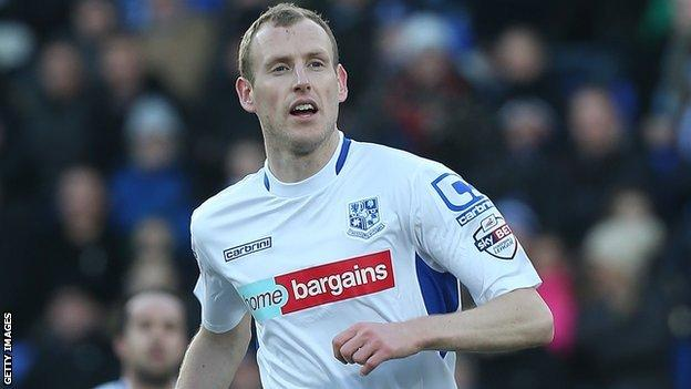 Tranmere's Marc Laird