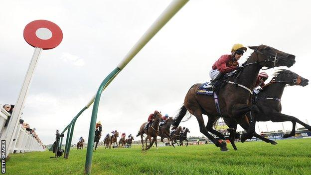 Monday's meeting at Ayr has been cancelled