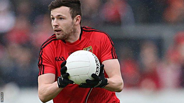 Donal O'Hare gave Down the perfect start at Clones