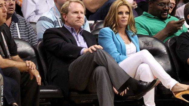 Robert Sarver and his wife Penny