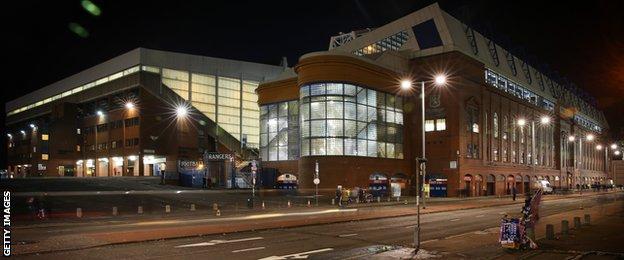 Ibrox Stadium, Rangers, Glasgow
