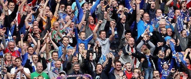 Carlisle United supporters