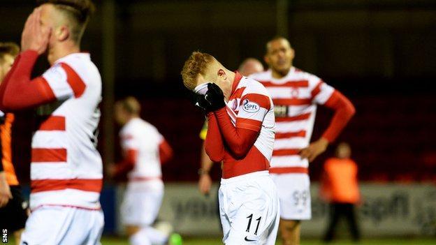 Hamilton's players are left devastated