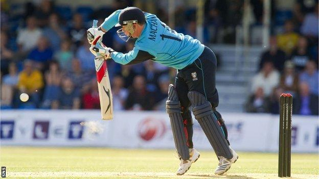 Cricket Scotland's Matt Machan