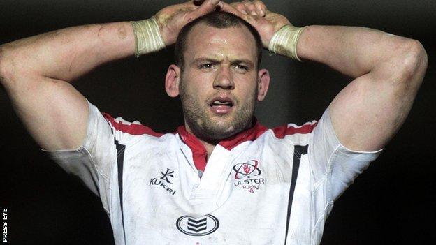 Ulster second row Dan Tuohy has signed a new contract