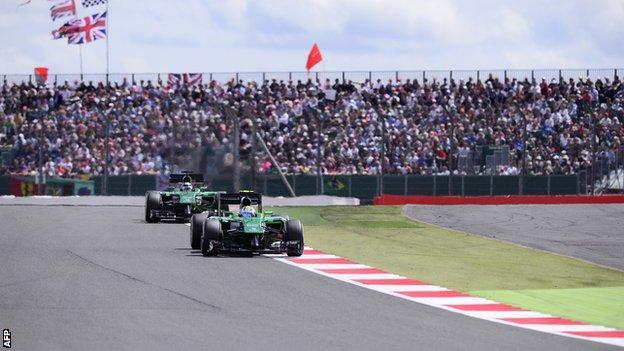 The 2014 British Grand Prix at Silverstone