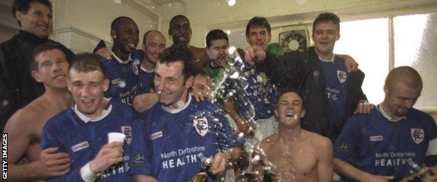 Chesterfield celebrate in 1997